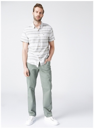 Wrangler Wrangler W121W3G29_Texas Chino Pantolon Yeşil